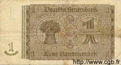1 Rentenmark ALLEMAGNE  1937 P.173b TTB