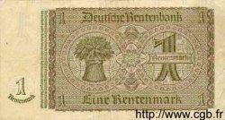 1 Rentenmark ALLEMAGNE  1937 P.173b TB à TTB