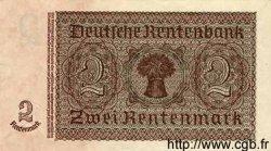 2 Rentenmark ALLEMAGNE  1937 P.174b SUP+