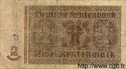 2 Rentenmark ALLEMAGNE  1937 P.174b B+