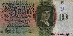 10 Reichsmark ALLEMAGNE  1924 P.175 pr.TB