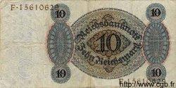 10 Reichsmark ALLEMAGNE  1924 P.175 TB+
