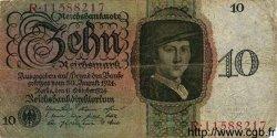 10 Reichsmark ALLEMAGNE  1924 P.175 B+