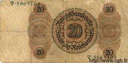 20 Reichsmark ALLEMAGNE  1924 P.176 B+