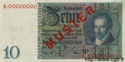 10 Reichsmark ALLEMAGNE  1929 P.180as SPL