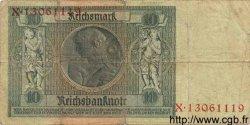 10 Reichsmark ALLEMAGNE  1929 P.180a B