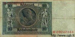 10 Reichsmark ALLEMAGNE  1929 P.180a TB
