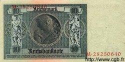 10 Reichsmark ALLEMAGNE  1929 P.180a pr.NEUF