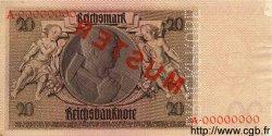 20 Reichsmark ALLEMAGNE  1929 P.181as SPL