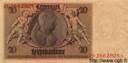 20 Reichsmark ALLEMAGNE  1929 P.181a SPL