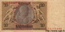 20 Reichsmark ALLEMAGNE  1929 P.181a TTB+