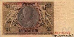 20 Reichsmark ALLEMAGNE  1929 P.181a SUP
