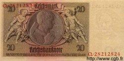 20 Reichsmark ALLEMAGNE  1929 P.181a pr.NEUF