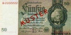50 Reichsmark ALLEMAGNE  1933 P.182as pr.NEUF