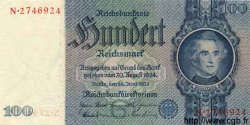 100 Reichsmark ALLEMAGNE  1935 P.183a SPL+
