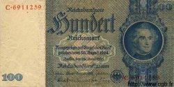 100 Reichsmark ALLEMAGNE  1935 P.183b TB