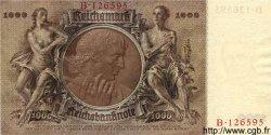 1000 Reichsmark ALLEMAGNE  1936 P.184 NEUF