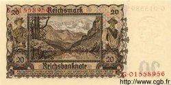 20 Reichsmark ALLEMAGNE  1939 P.185 NEUF