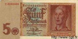 5 Reichsmark ALLEMAGNE  1942 P.186 SUP