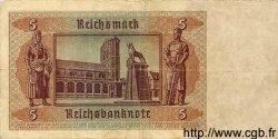 5 Reichsmark ALLEMAGNE  1942 P.186 TTB