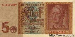5 Reichsmark ALLEMAGNE  1942 P.186 pr.SUP