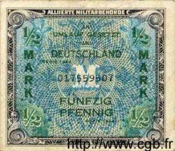 1/2 Mark ALLEMAGNE  1944 P.191a TTB