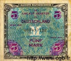 5 Mark ALLEMAGNE  1944 P.193a TB+