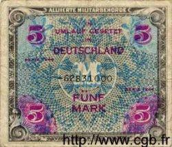 5 Mark ALLEMAGNE  1944 P.193d TB
