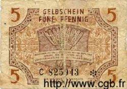 5 Pfennig ALLEMAGNE Coblenz 1947 PS.1004 B