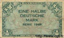 1/2 Deutsche Mark ALLEMAGNE FÉDÉRALE  1948 P.01a pr.TB