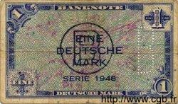 1 Deutsche Mark ALLEMAGNE FÉDÉRALE  1948 P.02d B+