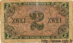 2 Deutsche Mark ALLEMAGNE FÉDÉRALE  1948 P.03a AB