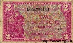 2 Mark ALLEMAGNE  1948 P.003a B+