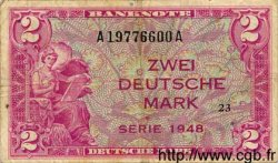 2 Mark ALLEMAGNE  1948 P.003a