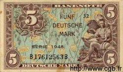 5 Mark ALLEMAGNE  1948 P.004a TTB+