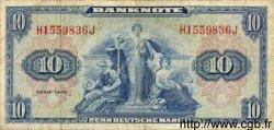 10 Deutsche Mark ALLEMAGNE FÉDÉRALE  1948 P.05a TB