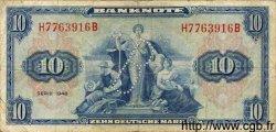 10 Deutsche Mark ALLEMAGNE FÉDÉRALE  1948 P.05c TB
