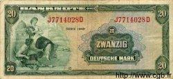 20 Mark ALLEMAGNE  1948 P.006a pr.TTB