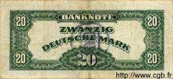 20 Deutsche Mark ALLEMAGNE FÉDÉRALE  1948 P.06b pr.TTB