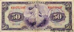 50 Deutsche Mark ALLEMAGNE FÉDÉRALE  1948 P.07b pr.TTB