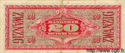 20 Deutsche Mark ALLEMAGNE FÉDÉRALE  1948 P.09a TTB