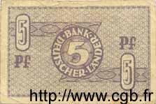 5 Pfennig ALLEMAGNE  1948 P.011a TTB