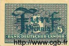 5 Pfennig ALLEMAGNE  1948 P.011a SUP