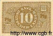 10 Pfennig ALLEMAGNE  1948 P.012a SPL
