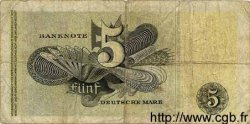 5 Deutsche Mark ALLEMAGNE FÉDÉRALE  1948 P.13a B+