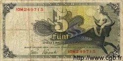 5 Mark ALLEMAGNE  1948 P.013i B+