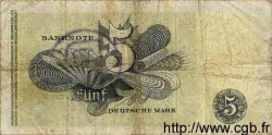 5 Deutsche Mark ALLEMAGNE FÉDÉRALE  1948 P.13f B