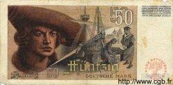 50 Deutsche Mark ALLEMAGNE FÉDÉRALE  1948 P.14a B