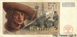 50 Deutsche Mark ALLEMAGNE FÉDÉRALE  1948 P.14a TB