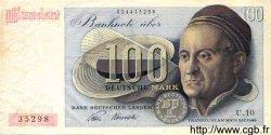 100 Deutsche Mark ALLEMAGNE FÉDÉRALE  1948 P.15a TTB+
